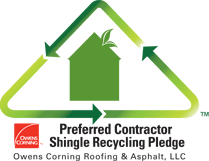 Preferred Contractor Shingle Recycling Pledge